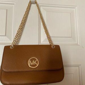 Michael Kors Handbag Tan w/gold tone hardware